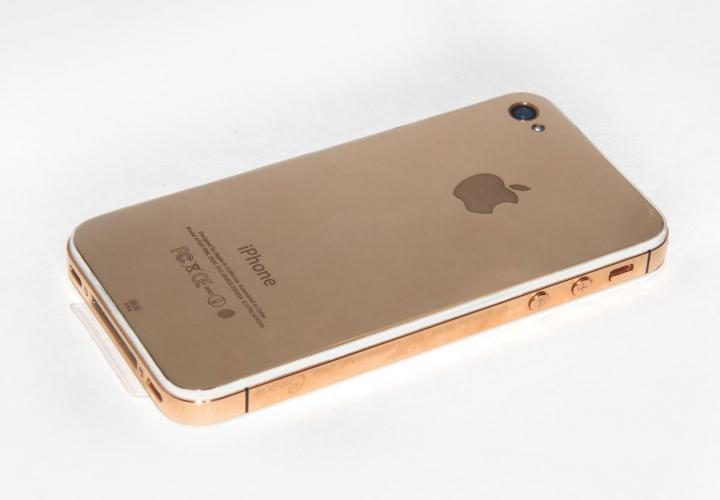 Золотой iPhone 4s #2