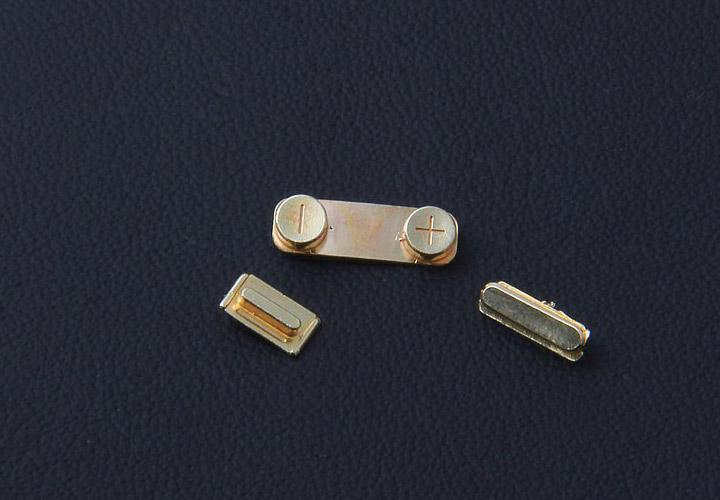 Золотые кнопки для iPhone 5