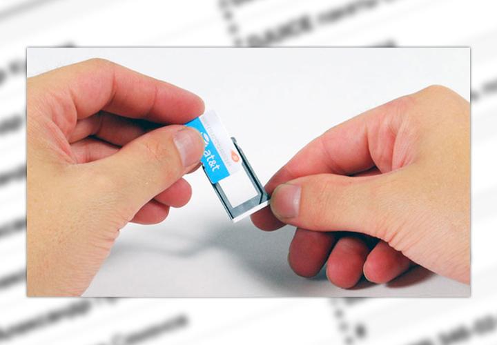 Установка SIM-карты в iPhone и iPad