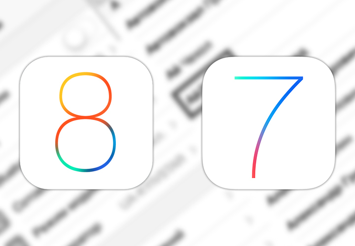 Откат iOS 8 до iOS 7