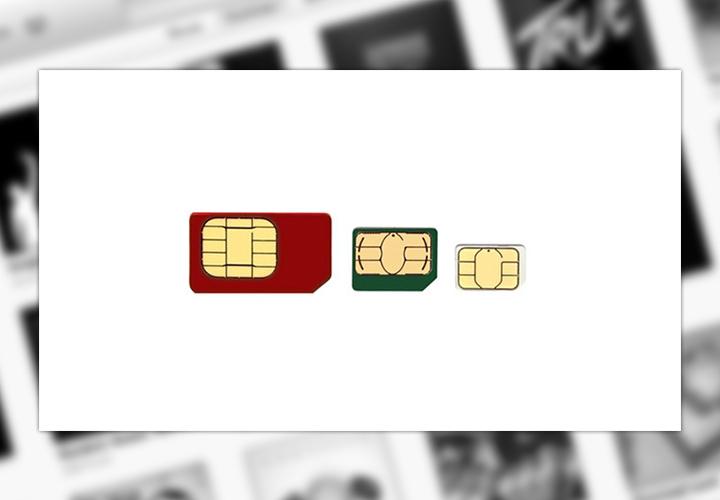 SIM, Micro-SIM или Nano-SIM