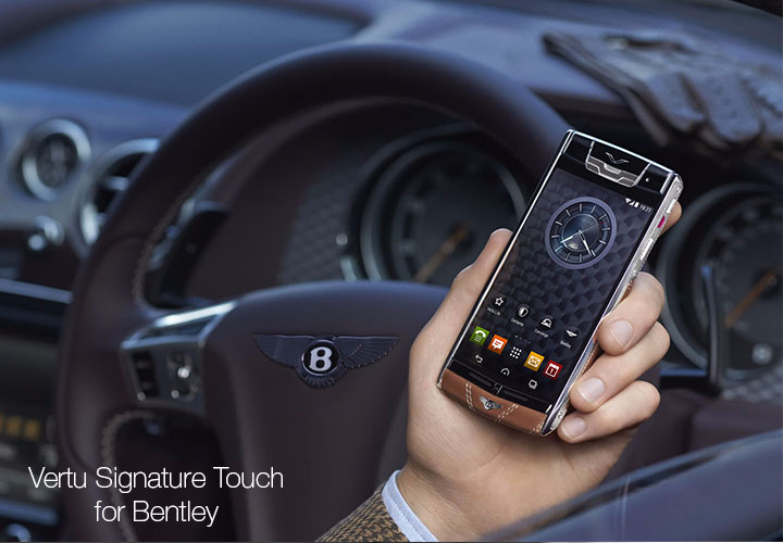 Представлен Vertu Signature Touch for Bentley
