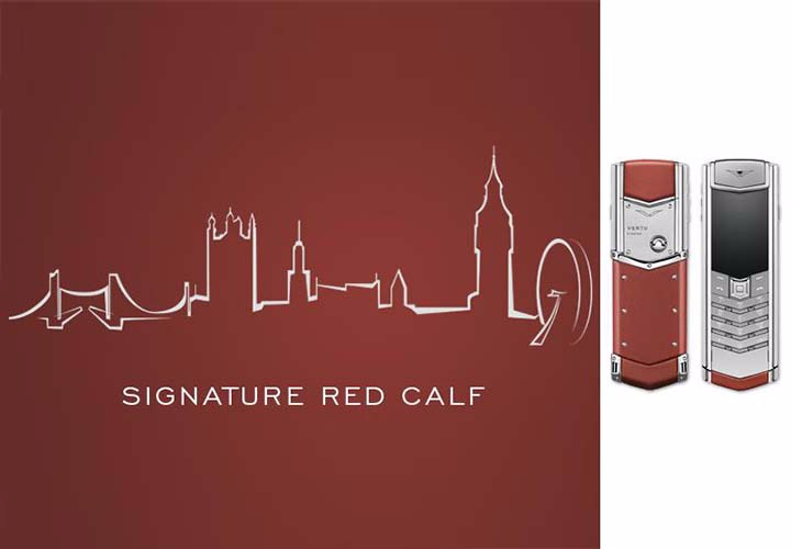Представлен Vertu Signature S Red Calf