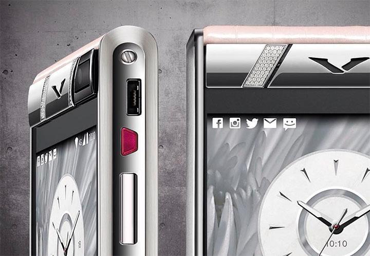 Самый гламурный телефон Vertu для коллекционера
