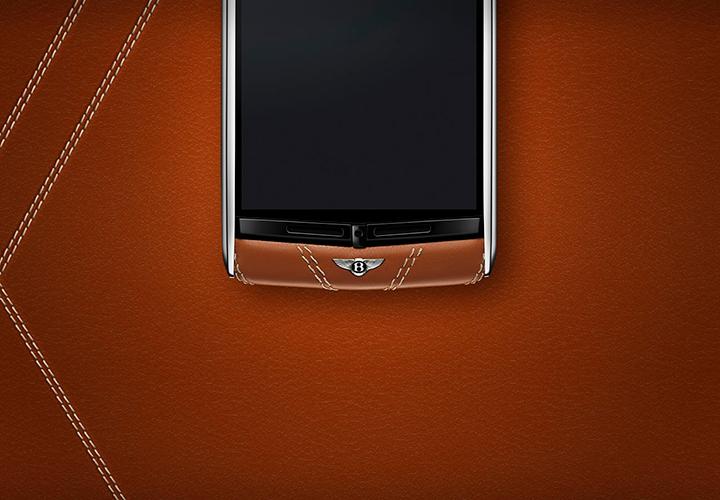 Кожа для телефонов Vertu for Bentley от Pasubio SpA