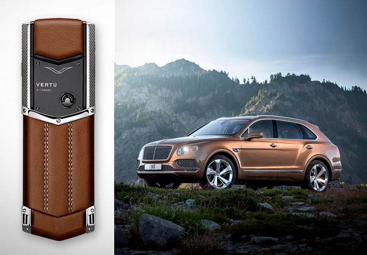 Vertu поздравила Bentley с выпуском Bentayga