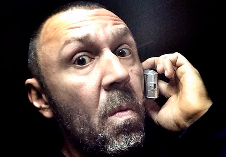Сергей Шнур — потрепанный жизнью «пират» с Vertu в кармане