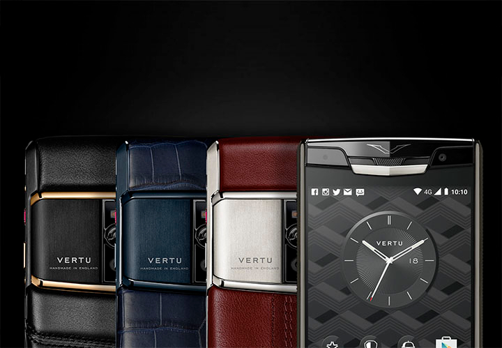 Предзаказ Vertu Signature Touch 2015