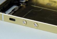 Кнопки из золота с бриллиантами