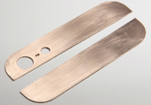 Золотые панели для iPhone 5