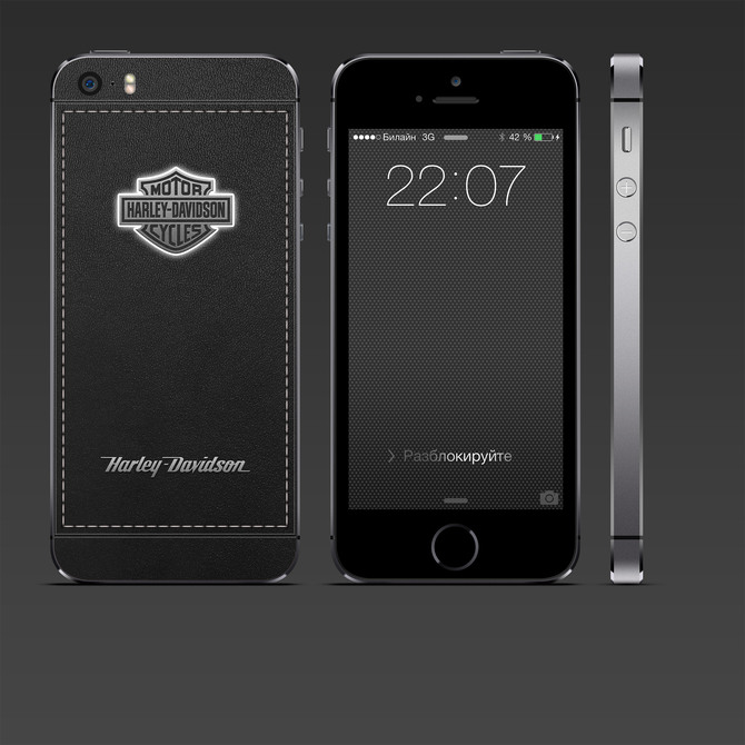 Harley-Davidson iPhone custom