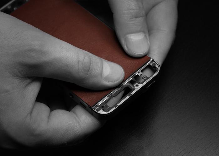 Верстка кожи на корпусе iPhone 5s