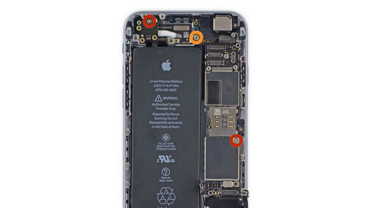 Замена кнопки питания на iPhone 6 и iPhone 6 Plus