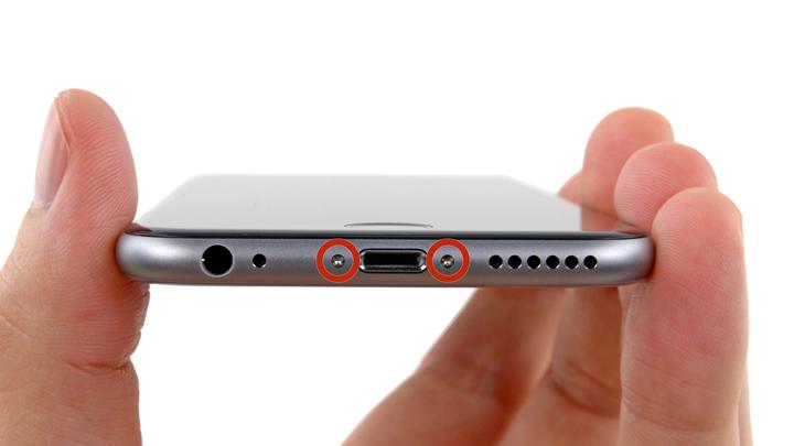 Замена переключателя режимов на iPhone 6 и iPhone 6 Plus