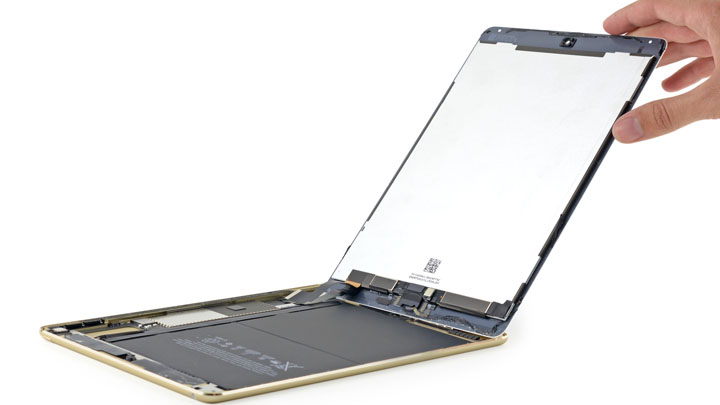 Замена динамиков на iPad Air 2