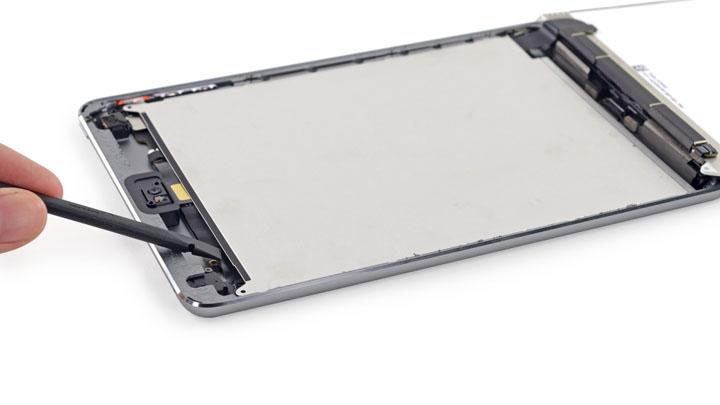 Замена защитной пластины экрана на iPad Mini 3
