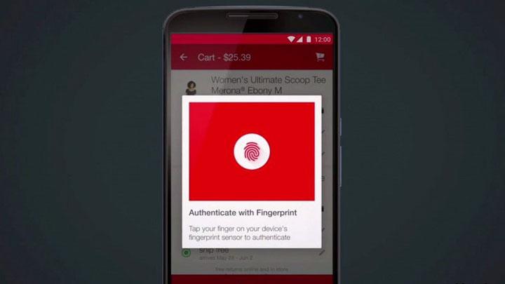 Fingerprint API —поддержка сенсоров отпечатков пальцев