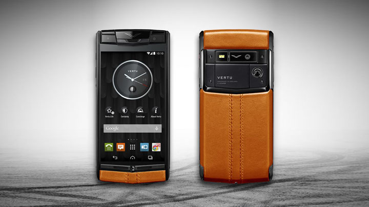 Vertu Signature Touch Racing Orange