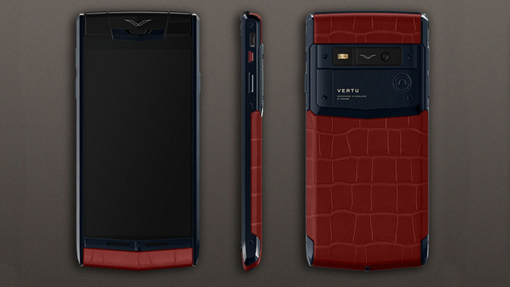 Уникальный Vertu Signature Touch