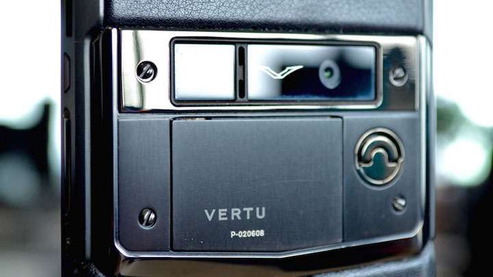 Определение IMEI на телефонах Vertu