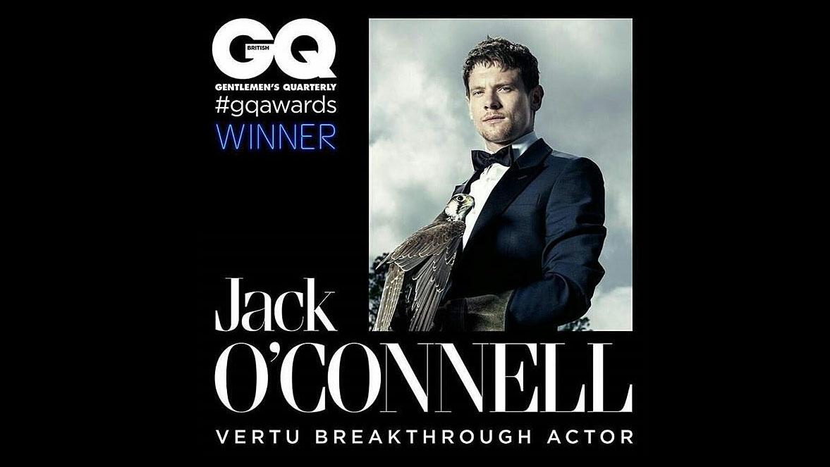 Джек О'Коннелл — лучший актер года в рамках GQ Men Of The Year 2015