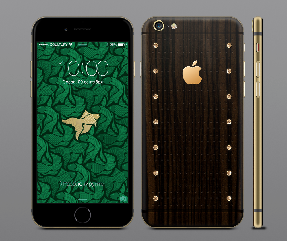 iPhone 6s из дерева