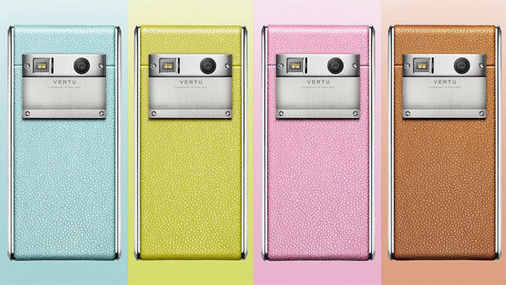 Vertu Aster Calf Collection — в дополнение модному образу