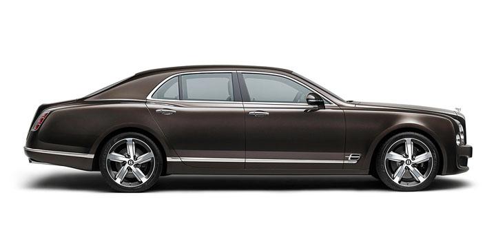 Bentley Mulsanne Speed — пример подражания на Vertu Signature S for Bentley