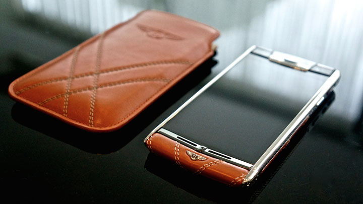 Чехол-футляр для Vertu Signature Touch for Bentley