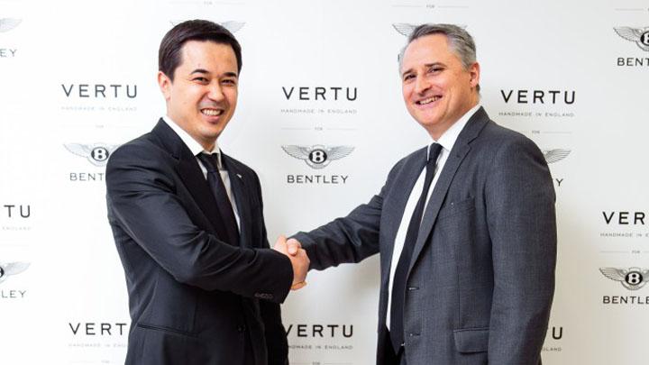 Британские гиганты Bentley и Vertu в Алматы