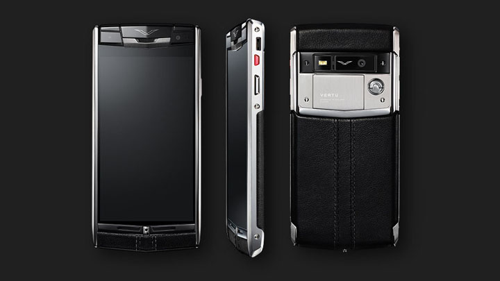 Vertu Signature Touch — Android 4.4 KitKat