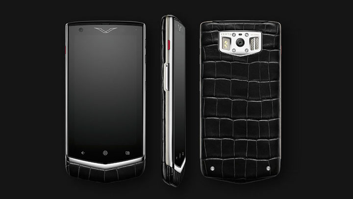 Vertu Constellation V — Android 4.2 Jelly Bean