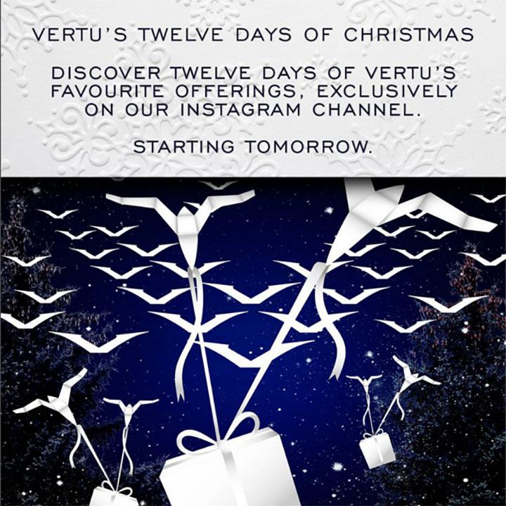 12 рождественских дней от Vertu