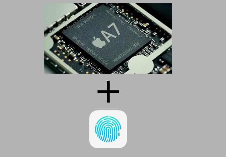 Связка процессора и датчика Touch ID