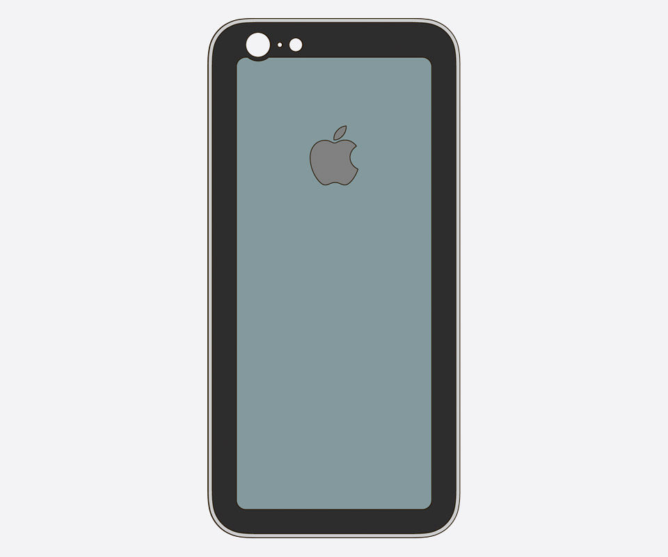 Моддинг iPhone — конструкция #4