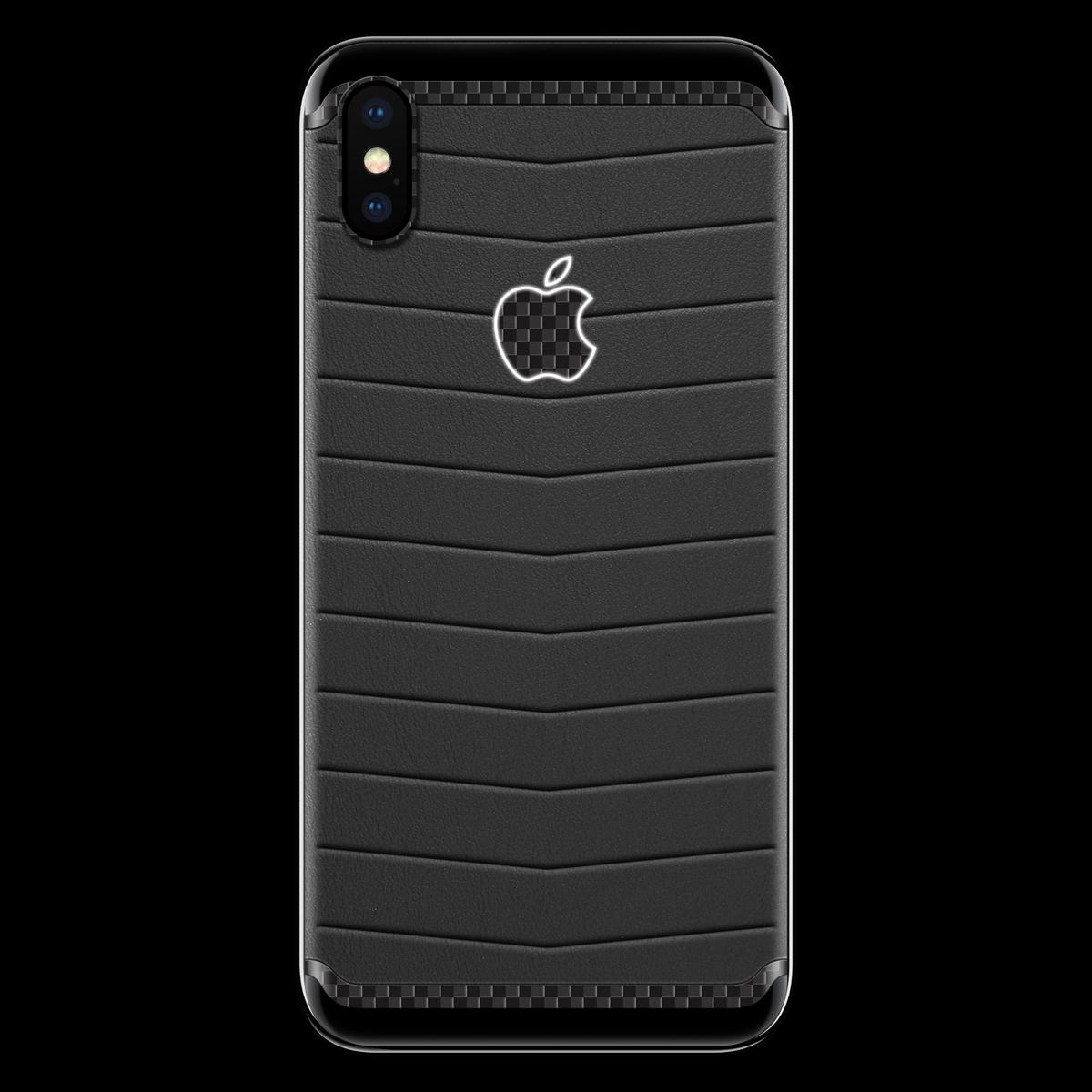 Моддинг iPhone X Светящийся логотип