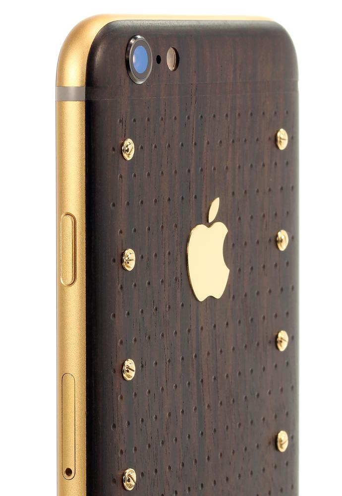 Золотой логотип Apple