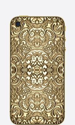 iPhone 4/4s Solid gold