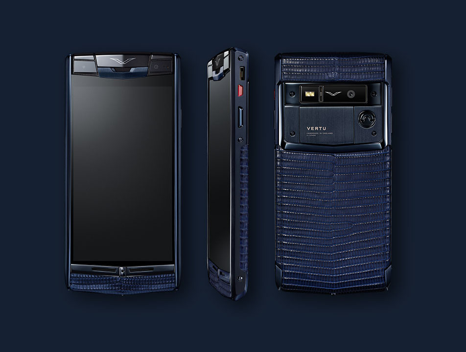 Vertu Signature Touch 2014 Pure navi lizard