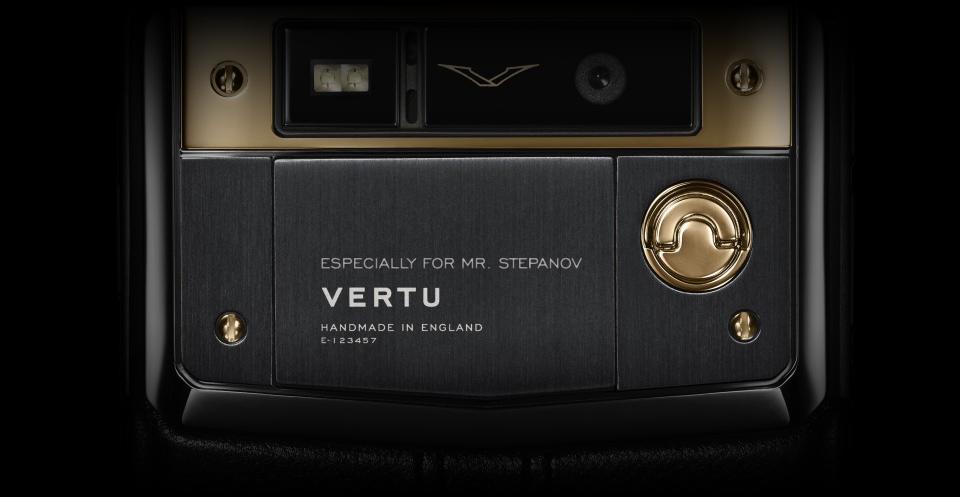 Персонализация Vertu