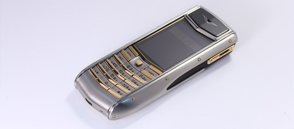 Полировка Vertu Ascent Ti Golden keys