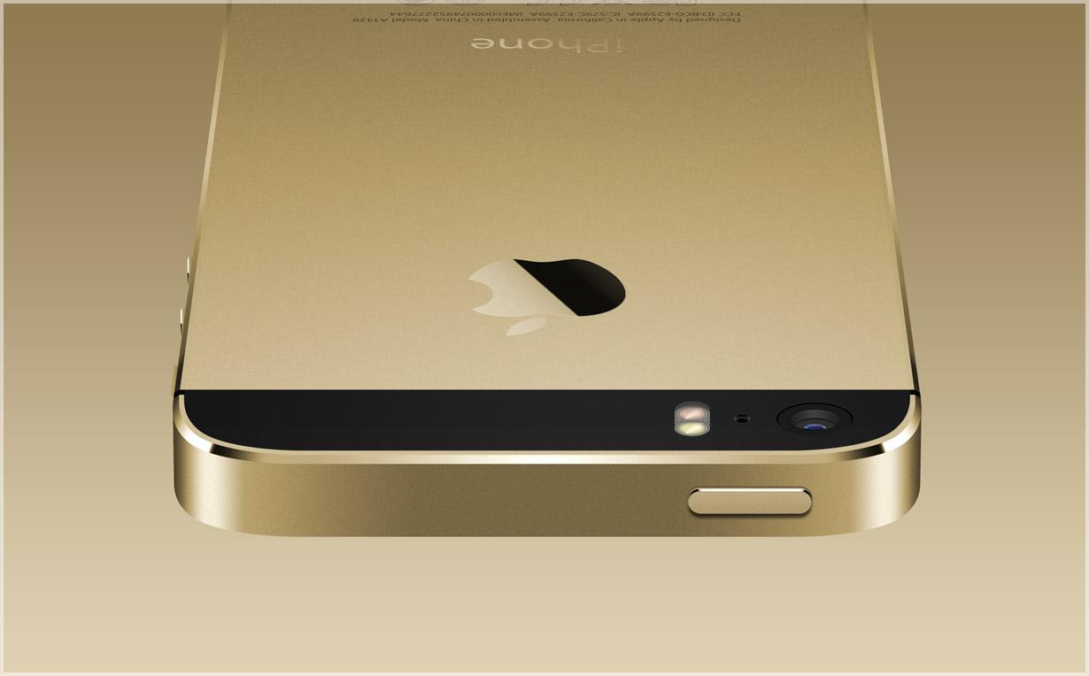Золотой корпус для iPhone 5