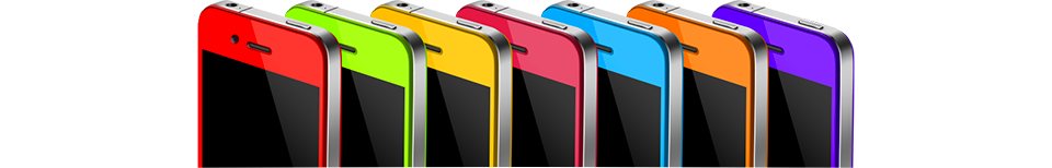 Цветные корпуса для iPhone 4 и 4s