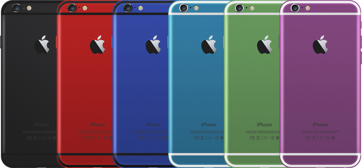 Цветной корпус iPhone 6 и 6s