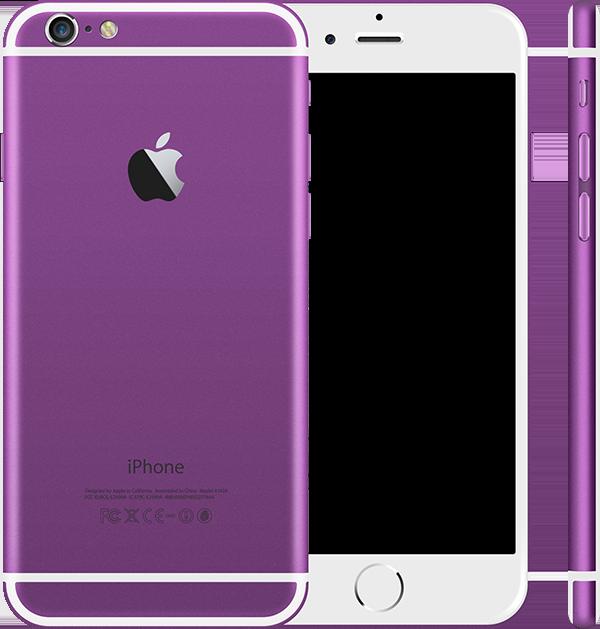 Фиолетовый корпус iPhone 6 и 6s