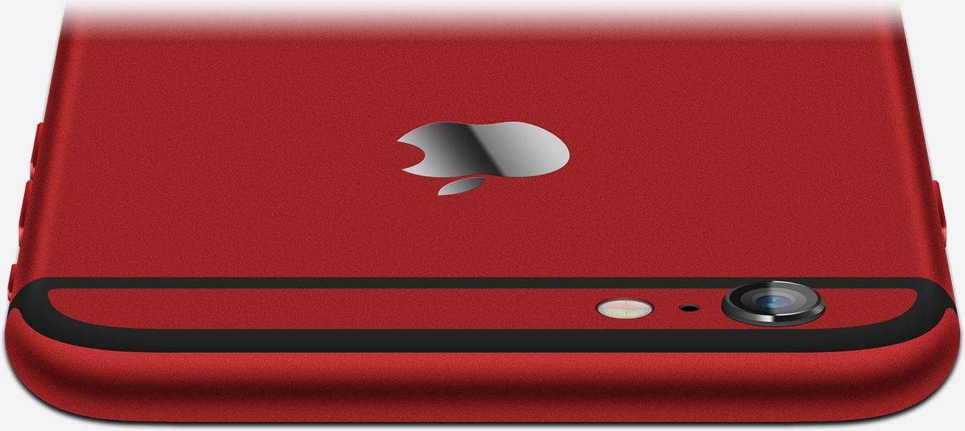 Красный iPhone 6