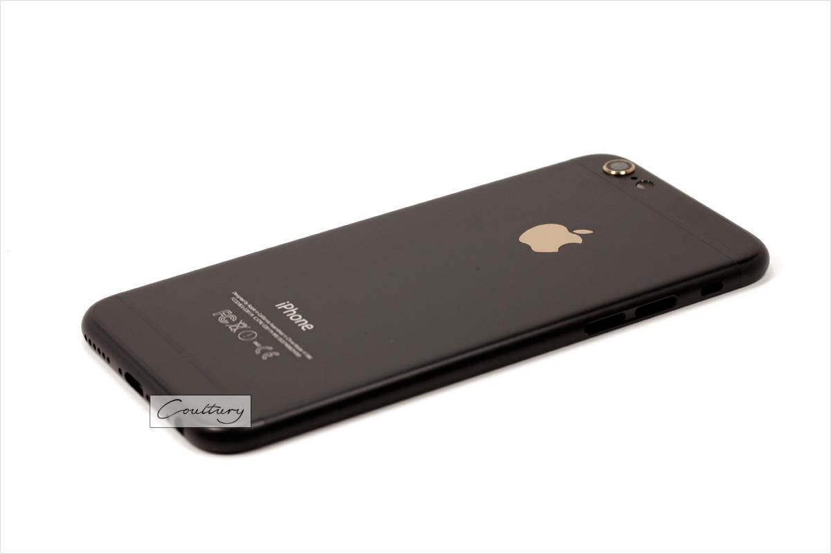 Черный корпус iPhone 6 и 6s