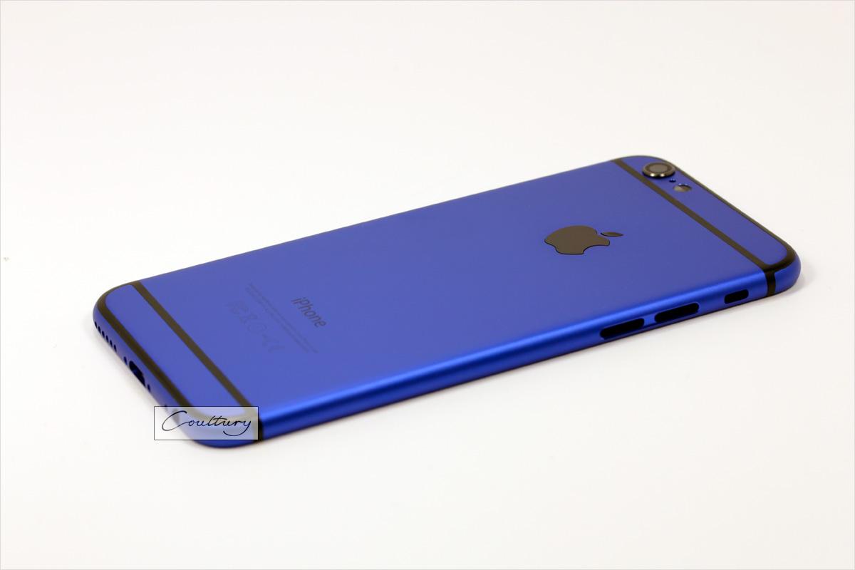Синий с черным корпус iPhone 6 и 6s