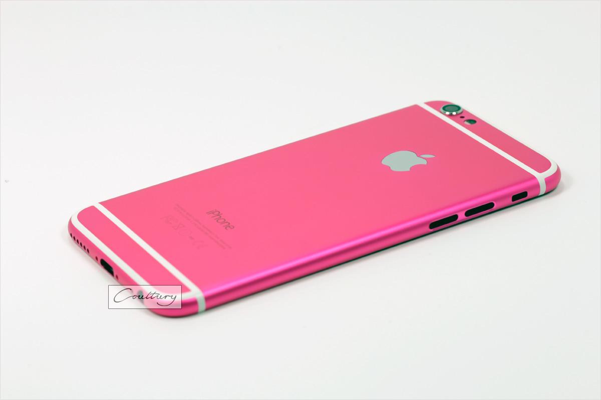 Малитовый, розовый с белым корпус iPhone 6 и 6s