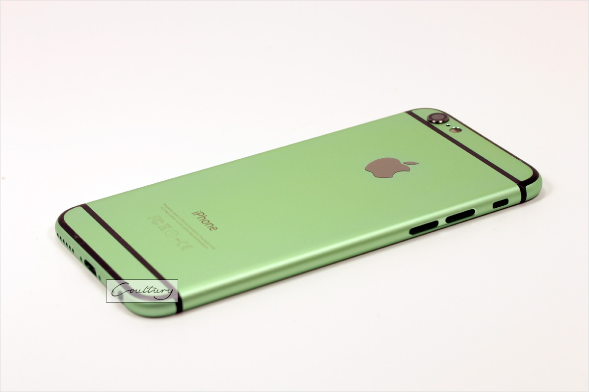 Зеленый с черным корпус iPhone 6 и 6s